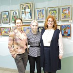 Открытие выставки В.Смирновой и А.Сергиенко