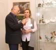 Открытие экспозиции в музее В.Орлова